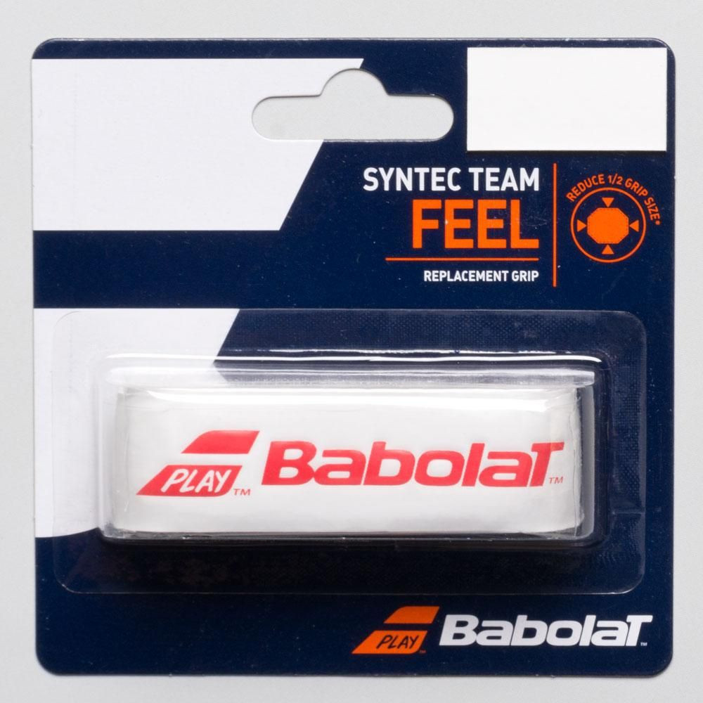 babolat syntec team feel osnovni grip bele barve
