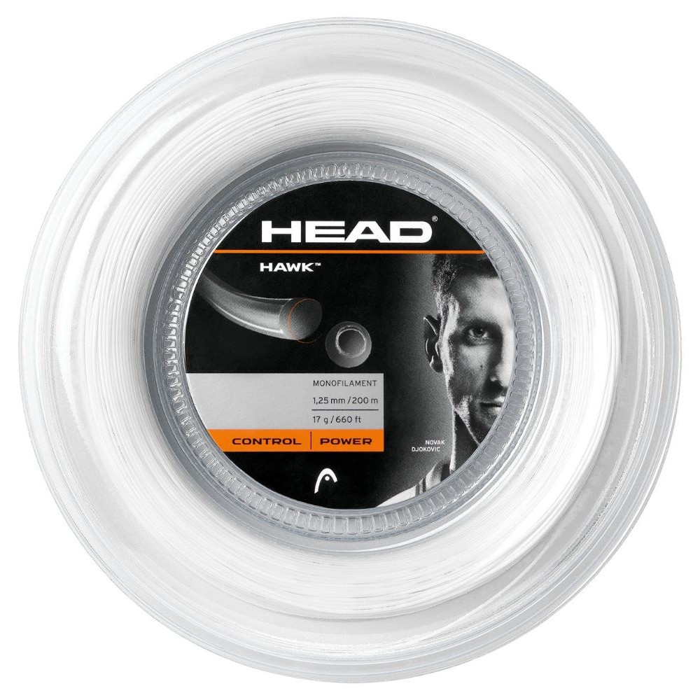 Head Hawk tenis strune 200m kolut 1.20mm bela | 3451