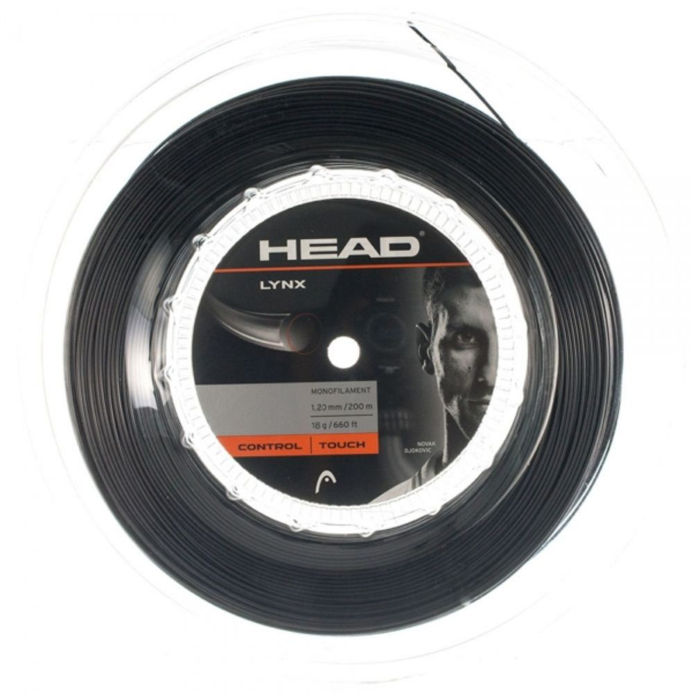 Head Lynx tenis strune 200m 1.30mm antracitna