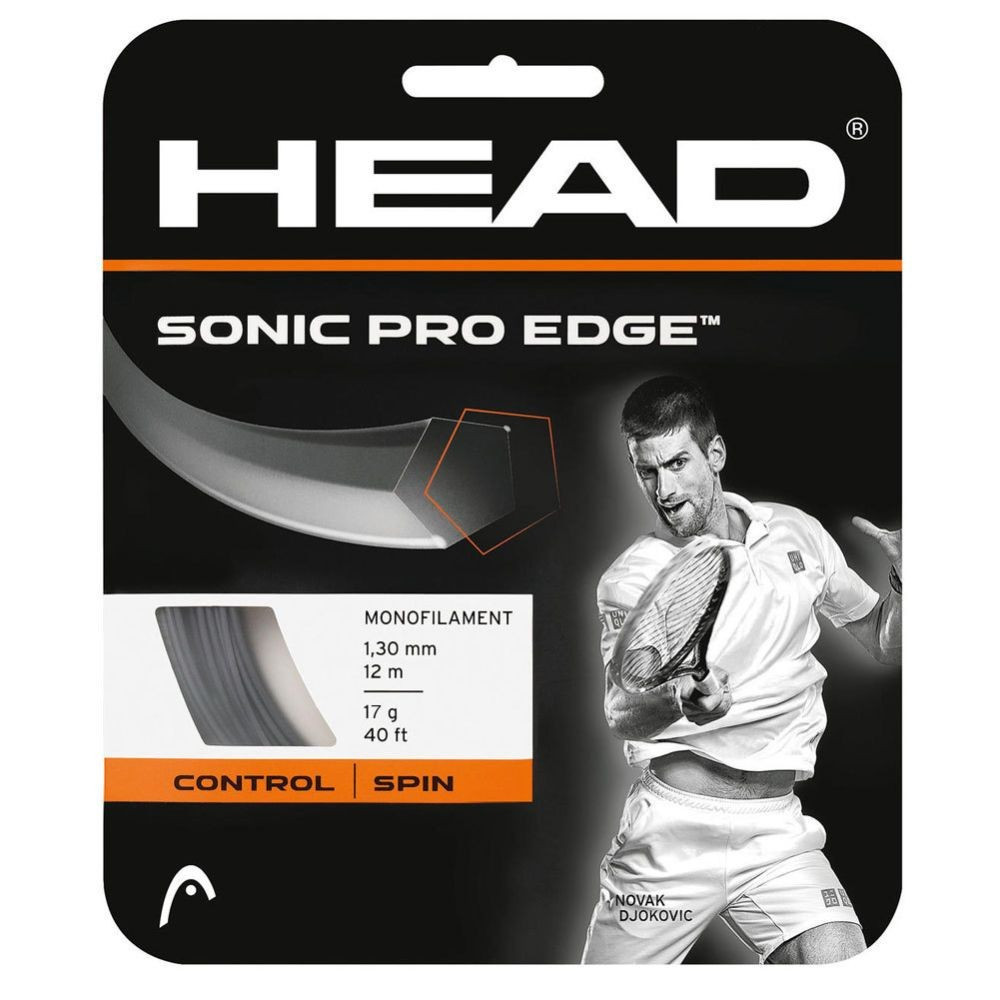 HEAD | Sonic Pro Edge 12 m - Črna 1.25 mm (PROMO)