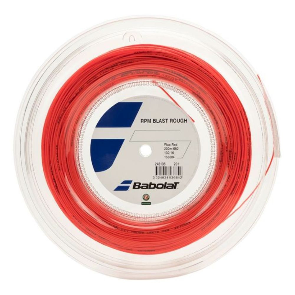 Tenis strune Babolat RPM Blast Rough Rdeča 1,25 mm 200 m