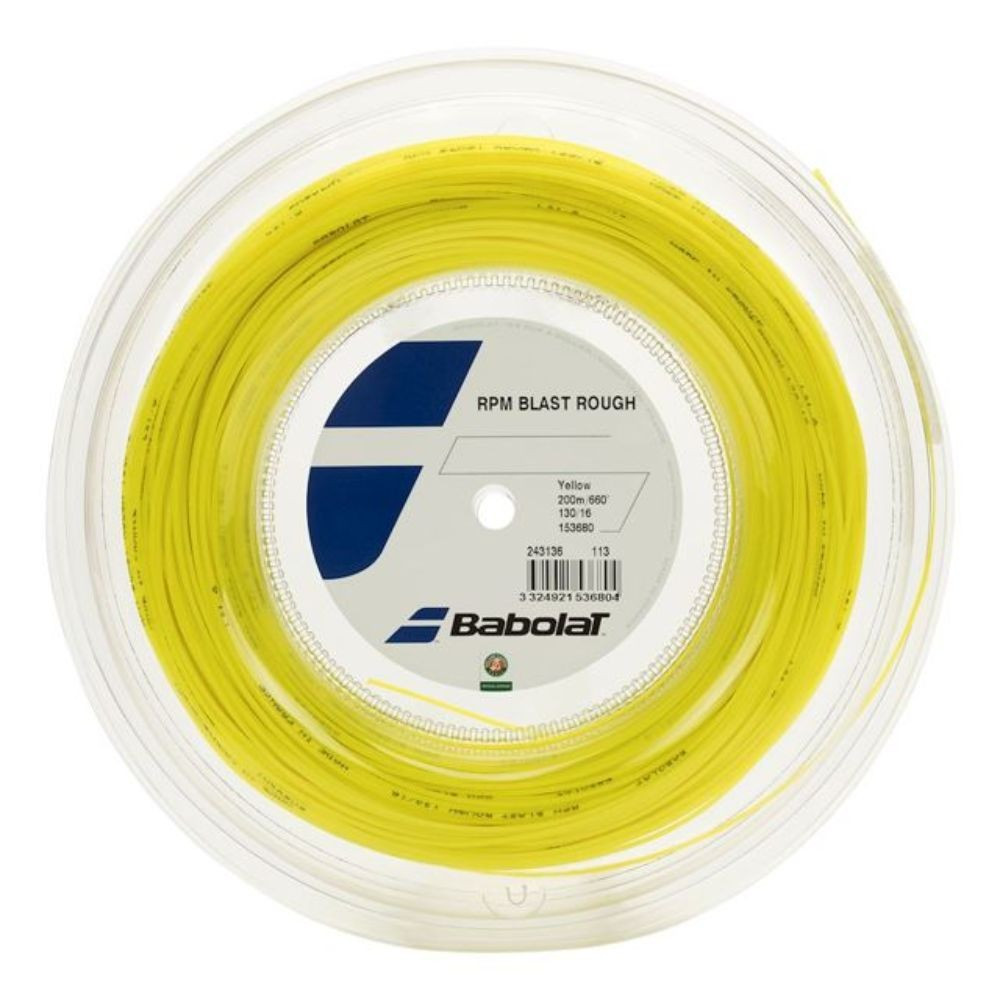Tenis strune Babolat RPM Blast Rough Rumena 1,25 mm 200 m