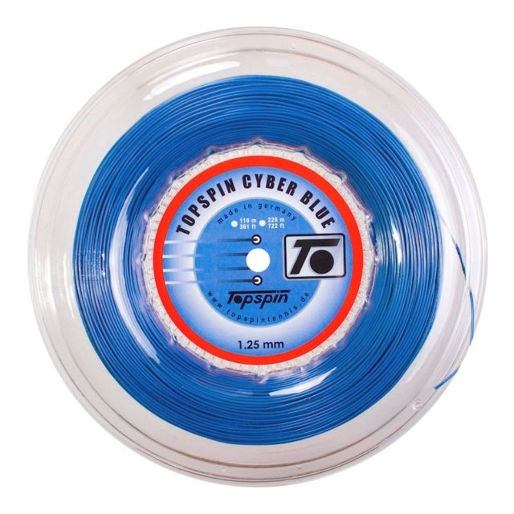 top spin cyber blue 220m kolut tenis strun 1.25mm